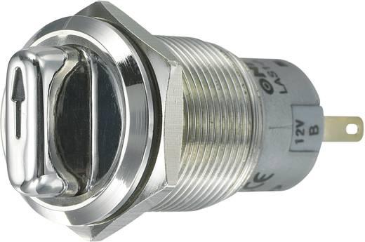 Vandalismusgeschützter Drehschalter 250 V/AC 3 A Schaltpositionen 2 1 x 90 ° TRU COMPONENTS LAS1-AGQ-11XD/21/B IP65 1 St