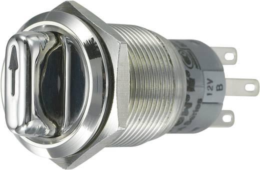 Vandalismusgeschützter Drehschalter 250 V/AC 3 A Schaltpositionen 3 2 x 45 ° TRU COMPONENTS LAS1-AGQ-22XD/31/B IP65 1 St