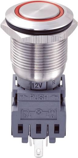Vandalismusgeschützter Drucktaster 250 V/AC 5 A 1 x Aus/(Ein) LAS1-BGQ-11E/R/12V IP67 tastend 1 St.