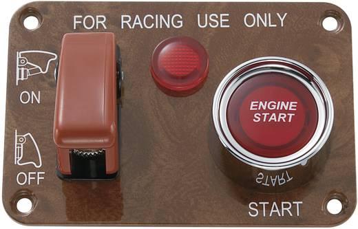Kfz-Bedienpanel 12 V/DC 50 A 1 x Aus/Ein rastend, tastend SCI R18-Q1A-23B423L3R17100L 1 St.