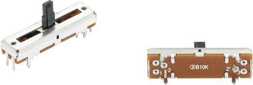 F2005G Schiebe-Potentiometer 10 kΩ Stereo 0.1 W linear 1 St.