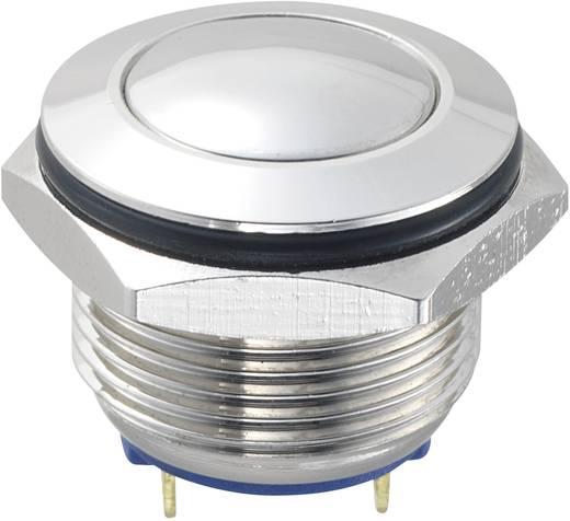 Vandalismusgeschützter Drucktaster 48 V/DC 2 A 1 x Aus/(Ein) TRU COMPONENTS GQ16B-10/J/N IP65 tastend 1 St.