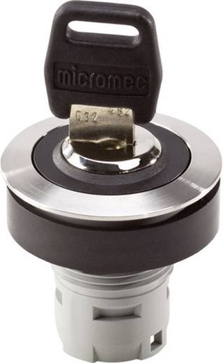 Schlüsselschalter Metall, Schwarz 1 x 90 ° Schlegel RONTRON RRJVASSA18 1 St.