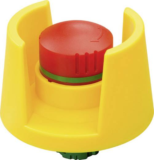 Not-Aus-Schalter überlistungssicher Rot, Gelb Drehentriegelung Schlegel QRSKUV 1 St.