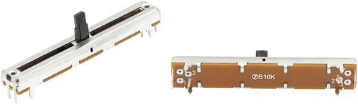 Schiebe-Potentiometer 10 kΩ Stereo 0.1 W linear F450G 1 St.