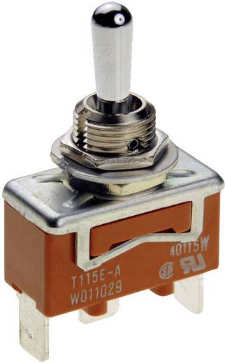 Panasonic T115HULCSAFJ Kippschalter 250 V/AC 15 A 1 x Ein/Aus/(Ein) rastend/0/tastend 1 St.