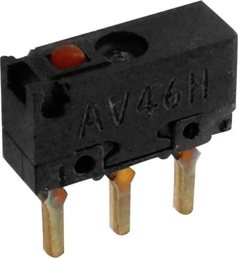 Panasonic Mikroschalter AV440461J 30 V/DC 0.5 A 1 x Ein/(Ein) IP40 tastend 1 St.