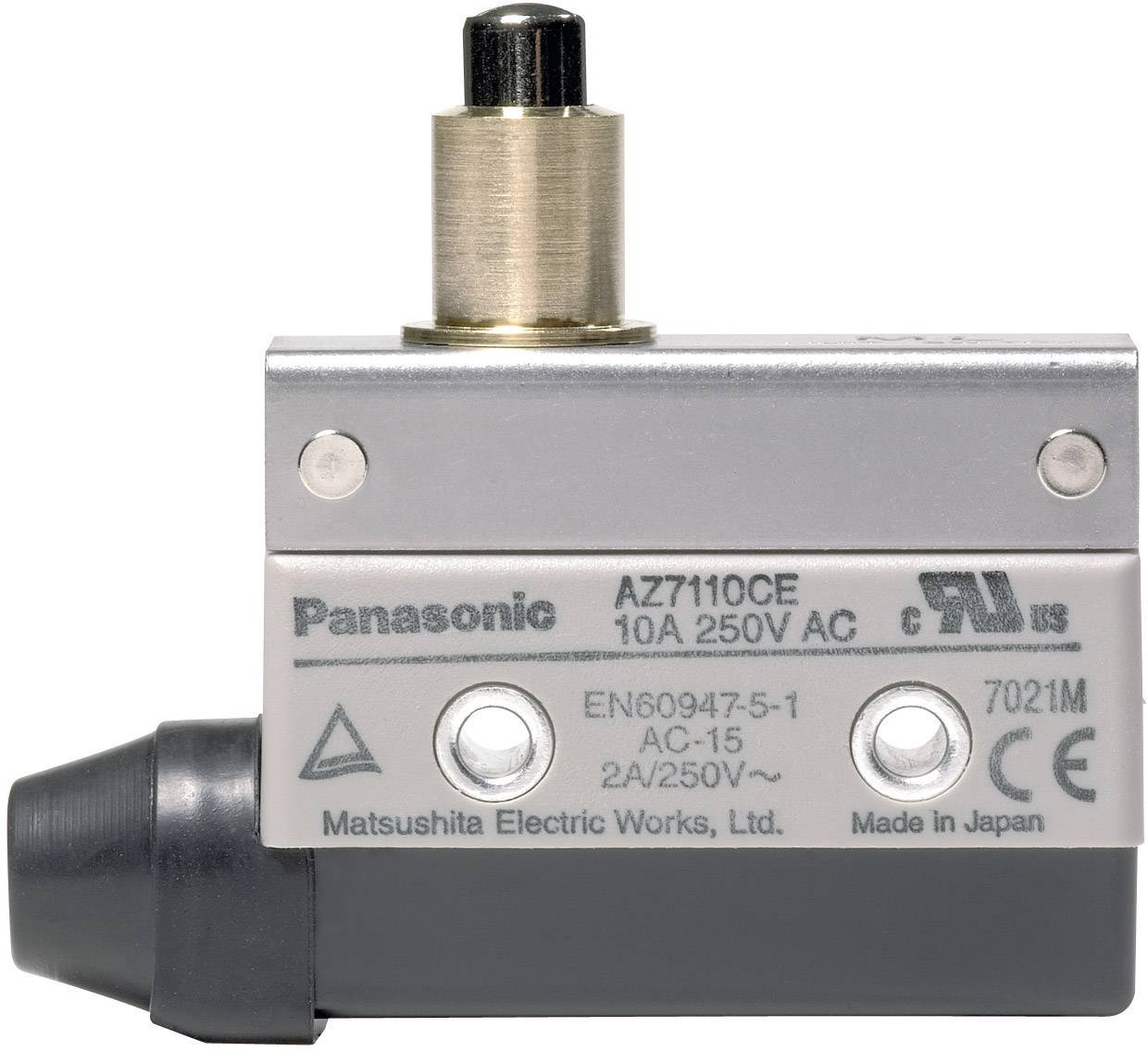 How A Limit Switch Works Thread Wiring Panasonic Relay 115 Vdc 250 V Ac 10 Tappet Momentary From Conrad Com