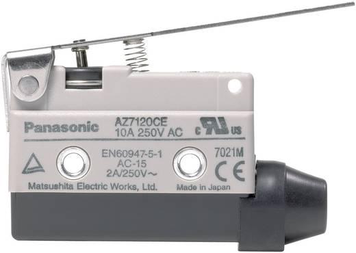 Panasonic AZ7120CEJ Endschalter 115 V/DC, 250 V/AC 10 A Metallhebel gerade tastend IP64 1 St.