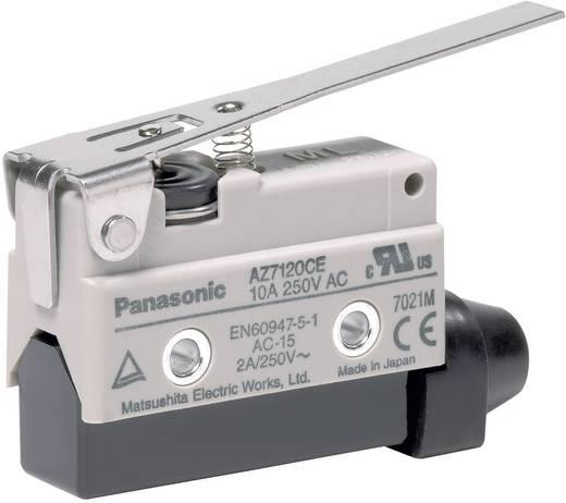 Endschalter 115 V/DC, 250 V/AC 10 A Metallhebel gerade tastend Panasonic AZ7120CEJ IP64 1 St.