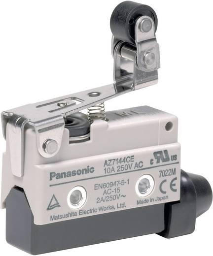 Panasonic AZ7144CEJ Endschalter 115 V/DC, 250 V/AC 10 A Rollenhebel tastend IP64 1 St.