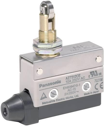 Endschalter 115 V/DC, 250 V/AC 10 A Rollenhebel mit Schraubgewinde tastend Panasonic AZ7312CEJ IP64 1 St.