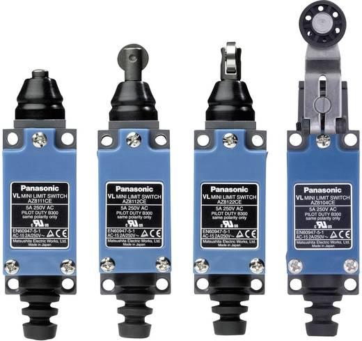 Endschalter 115 V/DC, 250 V/AC 5 A Rollenstößel tastend Panasonic AZ8122CEJ IP64 1 St.