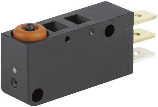 Mikroschalter 250 V/AC 8 A 1 x Ein/(Ein) Burgess V3NST1YR1UL IP67 tastend 1 St.