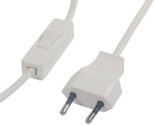 Schnurschalter mit Anschlussleitung Weiß 1 x Aus/Ein 2 A Schaltleistung (max.) 500 W interBär 1 St.
