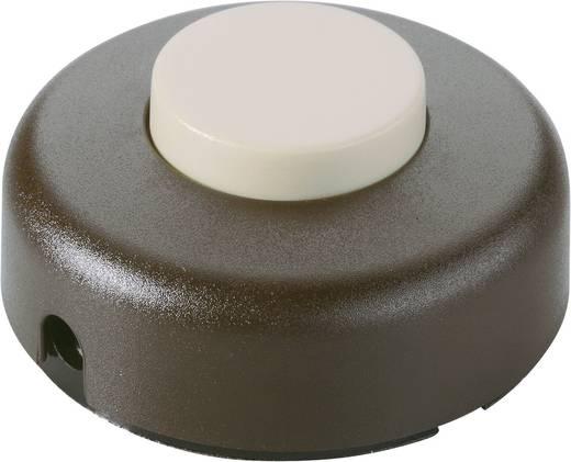 Tretschalter Braun, Beige 1 x Aus/Ein 2 A interBär 5062-509.01 1 St.