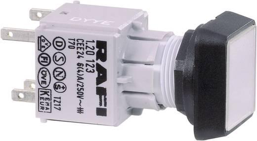 Drucktaster Betätiger flach Rot RAFI RAFIX 16 130070001/1306 1 St.