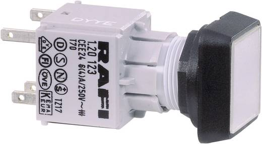 Drucktaster Betätiger flach Transparent RAFI RAFIX 16 130070001/1002 1 St.