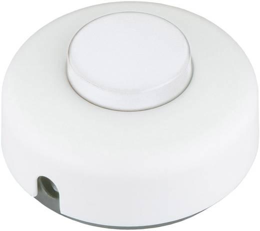 Tretschalter Weiß 1 x Aus/Ein 2 A interBär 5062-508.01 1 St.