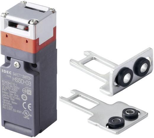 Sicherheitsschalter 300 V/AC 10 A Metallhebel gerade, Metallhebel gebogen tastend Idec HS5D-03ZRNM-SET IP67 1 Set