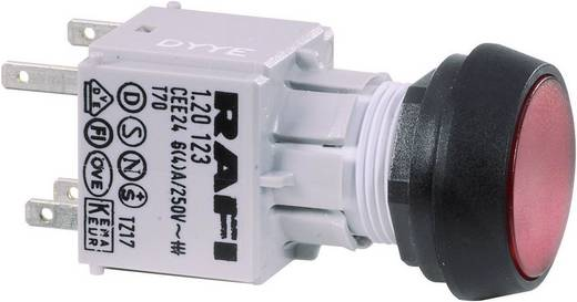 Drucktaster Betätiger flach Transparent RAFI RAFIX 16 130070021/1002 1 St.