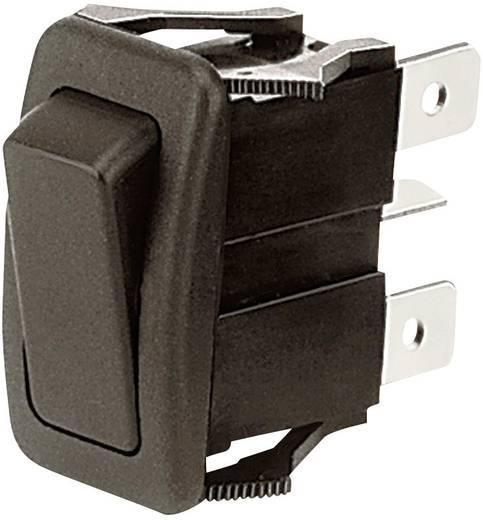 Wippschalter 28 V/DC, 125 V/AC 16 A 1 x (Ein)/Aus/Ein OTTO K1ABGAAAAA tastend/0/rastend 25 St.