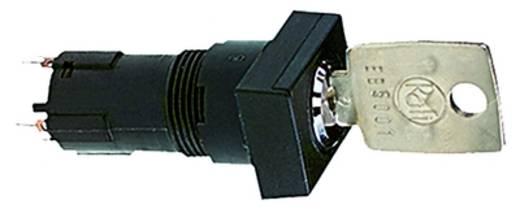 Schlüsselschalter 35 V 0.1 A 1 x Aus/Ein/Ein/Ein 3 x 90 ° RAFI 1.10.118.414/0000 IP65 2 St.