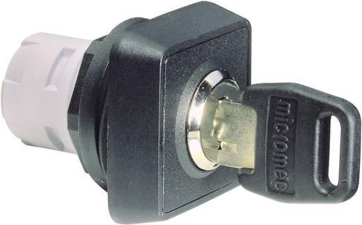 Schlüsselschalter Schwarz 2 x 90 ° RAFI 1.30076.301 1 St.