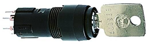 Schlüsselschalter 35 V 0.1 A 1 x Aus/Ein/Ein/Ein 3 x 90 ° RAFI 1.10.119.617/0000 IP65 2 St.