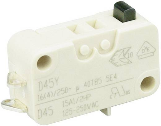 Cherry Switches Mikroschalter D453-B8AA 250 V/AC 16 A 1 x Ein/(Ein) tastend 1 St.