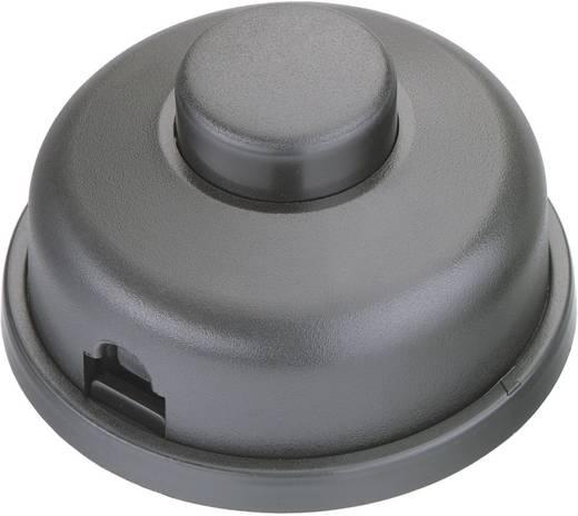 interBär 8009-012.01 Tretschalter Schwarz 1 x Aus/Ein 2 A 1 St.