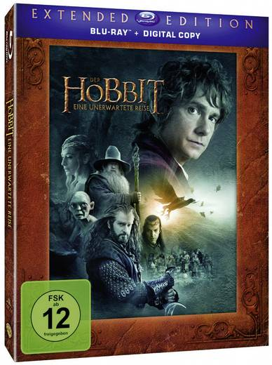 blu-ray Der Hobbit - Eine unerwartete Reise - Extended Edition FSK: 12