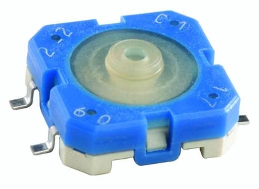 Drucktaster 35 V 0.1 A 1 x Aus/(Ein) RAFI 1.14.001.503/0000 tastend 750 St.