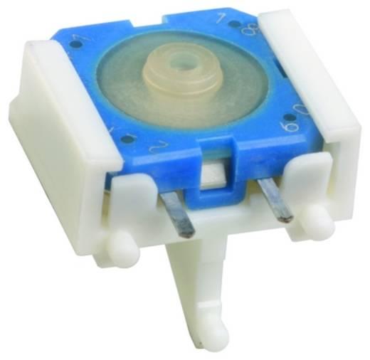 Drucktaster 35 V 0.1 A 1 x Aus/Ein RAFI 1.14.001.505/0000 tastend 100 St.
