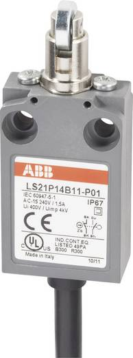 Endschalter 400 V/AC 5 A Rollenstößel tastend ABB LS21P14B11-P01 IP67 1 St.