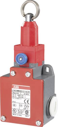 Seilzugschalter 400 V/AC 1.8 A Seilzug rastend ABB LS63M98D12-SCR IP66 1 St.
