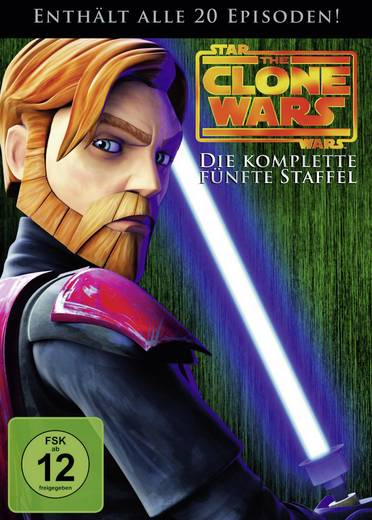 DVD Star Wars: The Clone Wars - 5. Staffel FSK: 12
