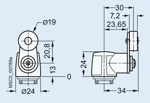 Edelstahlhebel Schwarz Siemens 3SE5000-0AA31 1 St.