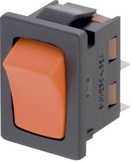 Wippschalter 250 V/AC 6 A 1 x Aus/(Ein) Marquardt 1941.1203 IP50 tastend 1 St.