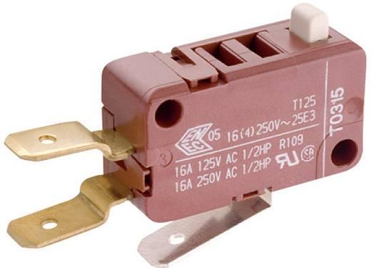 Mikroschalter 250 V/AC 16 A 1 x Ein/(Ein) Marquardt 1085.0403 tastend 1 St.