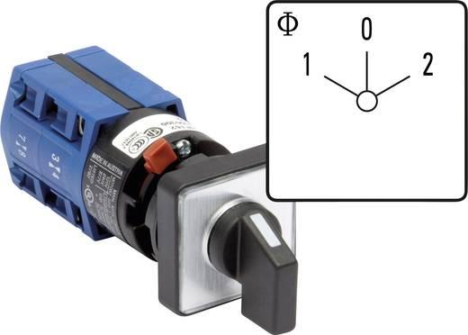 Lasttrennschalter 10 A 2 x 60 ° Grau, Schwarz Kraus & Naimer CG4 A211-600 FS2 1 St.