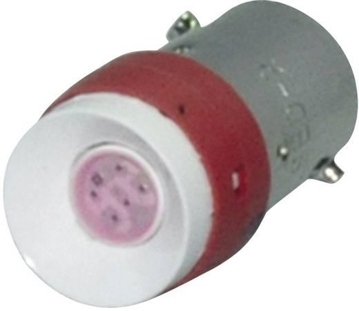 Leuchtdiode mit Sockel BA9S/14 Rot Idec YW LSED-M3R 1 St.