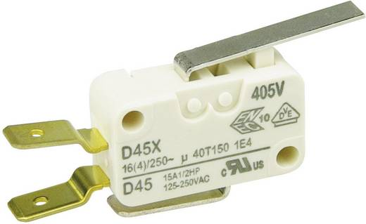 Cherry Switches Mikroschalter D45U-V3LD 250 V/AC 16 A 1 x Ein/(Ein) tastend 1 St.
