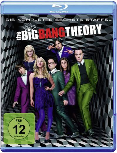 blu-ray The Big Bang Theory - Staffel 6 FSK: 12