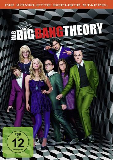 DVD The Big Bang Theory - Staffel 6 FSK: 12