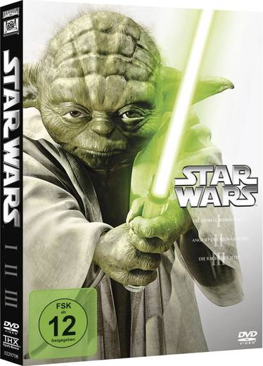 DVD Star Wars Triologie 1-3 FSK: 12
