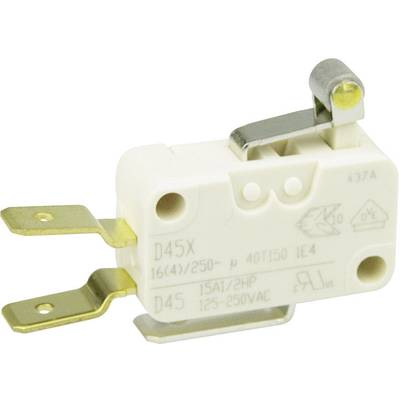 Cherry Switches Mikroschalter D45U-V3RA 250 V/AC 16 A 1 x Ein/(Ein) tastend 1 St. Preisvergleich