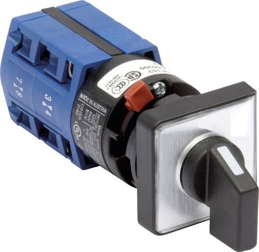 Lasttrennschalter 10 A 2 x 60 ° Grau, Schwarz Kraus & Naimer CG4 A211-621 FS2 1 St.