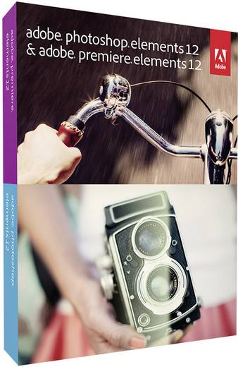 Adobe Photoshop Elements 12 & Premiere Elements 12 Upgrade, 1 Lizenz Bildbearbeitung