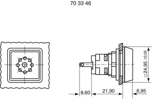 Signalgeber Geräusch-Entwicklung: 70 dB Spannung: 24 V Dauerton RAFI 1.30.078.001/0100 1 St.